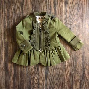 HTF Persnickety Military Jacket